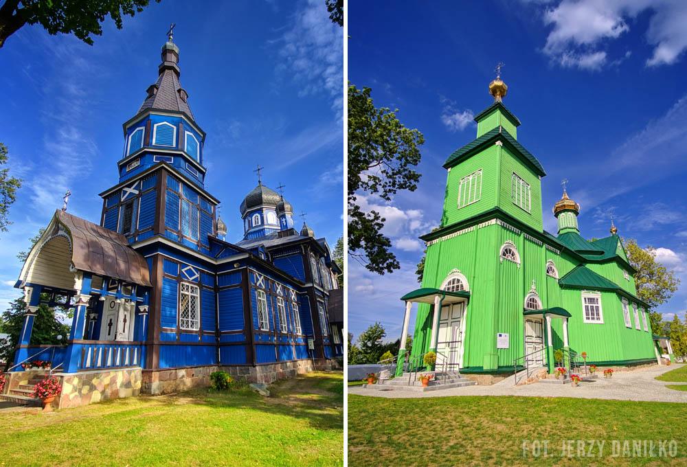 podlaskie cerkwie